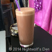 Best ever chocolate milkshake
