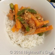 Sweet & Sour chicken with vegies