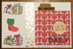 Be Merry 4x6 card
