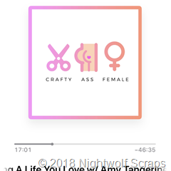 Crafty Ass Female podcast logo